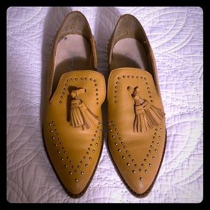 Free People Rangley Studded pointed toe loafer